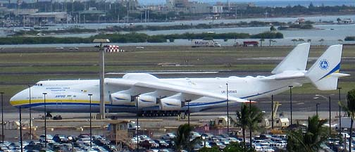 Antonov An-225 at Honolulu on October 21